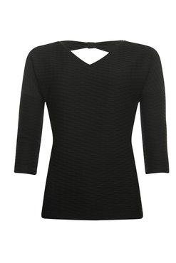Poools T-shirt V-neck Zwart 933115