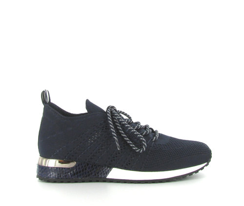 LA STRADA Sneaker knitted navy blue 1802649