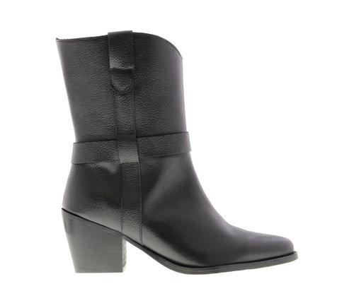 Tango Ella square 11-a Black Leather boot
