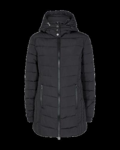 Freequent Diana-L-JA winterjas Zwart