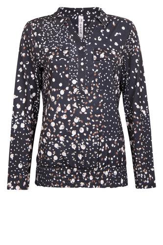 Zoso Debby print blouse