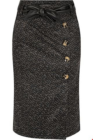Skirt Punta Camouflaged Print