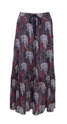 20to Skirt Autumn Leaves Navy