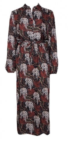 20to Dress Autumn Leaves Navy