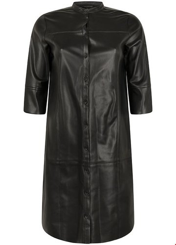 Tramontana Dress Pu Zwart Tunic