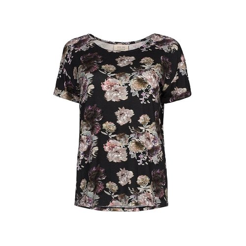 One two luxzuz Karin t-shirt bloemen print