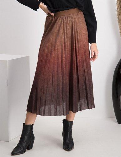 Tramontana Skirt Lurex Ombre