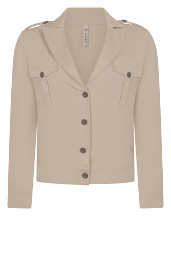 Zoso  Power Comfy detailed Jacket driftwood