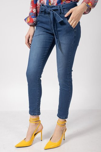 Bianco Chino Kylie Blue Denim