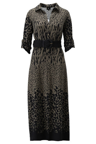 PRE ORDER: K-Design Maxi jurk met riem