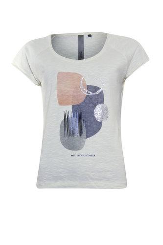 Poools T-shirt Rocks Ivory