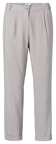 Yaya Relaxed fit trousers silver