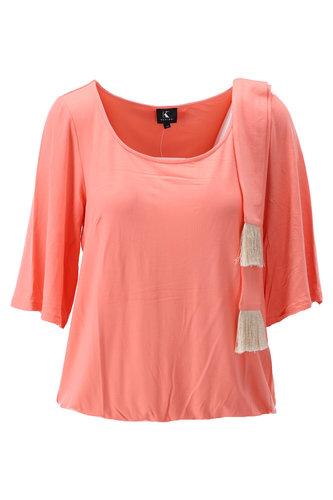 K-Design Top met sjaaltje Coral
