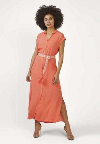 Aaiko Valka Mesh Coral VIS 531 jurk
