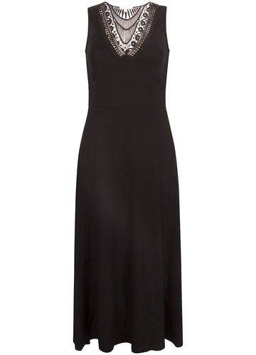 Tramontana Dress S/L Plastron