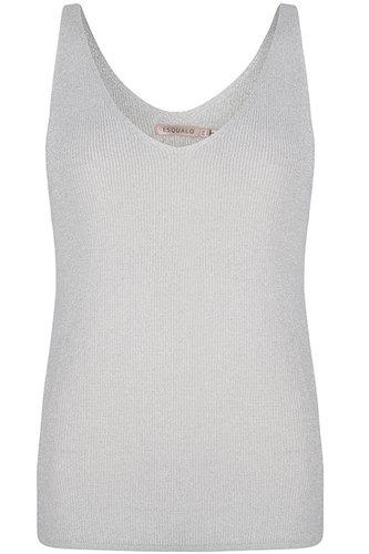 Esqualo Camisole lurex Silver SP21.31006