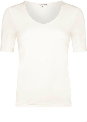 Tramontana Paula Basic Blouse Off white