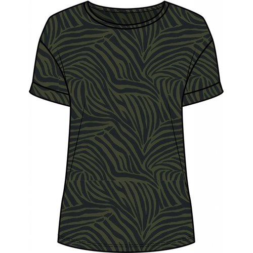 One Two Luxzuz Karin T-Shirt Army
