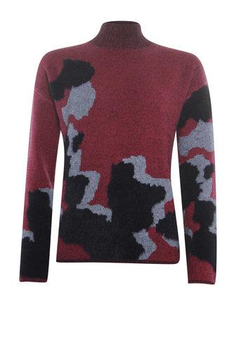 Poools  Sweater Big Spots Cerise