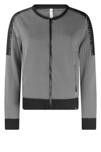 Zoso Daily black Sporty printed jacket