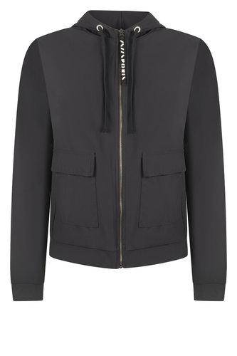 Zoso Zoe Hooded travel jacket zwart