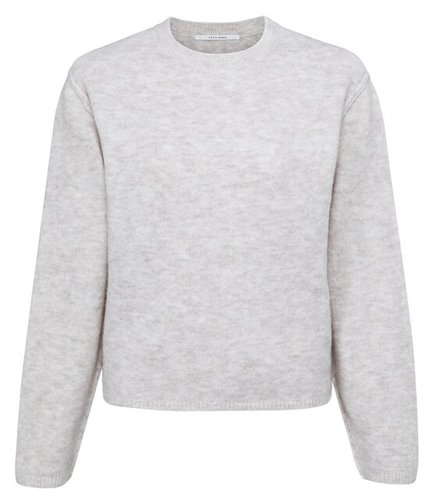 Yaya Boxy sweater in cosy yarn with long sleeves