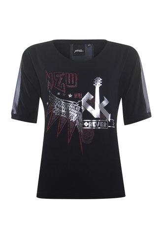 Poools  T-shirt glam rock black