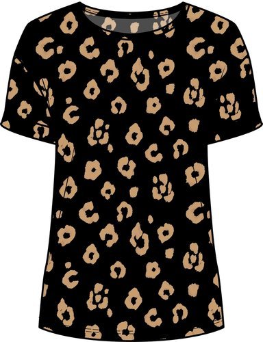 One Two Luxzuz Karin T-Shirt Black