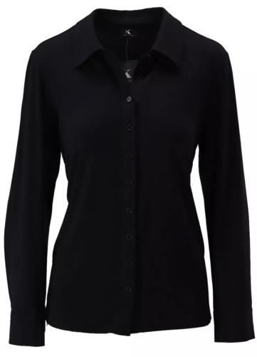 K-Design Basis blouse Zwart T750