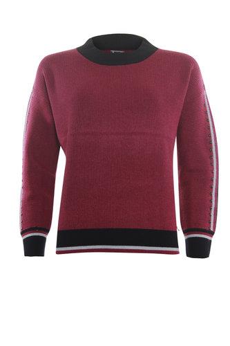 Poools  Sweater studs Cerise