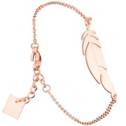 ZAG blad rosé gouden armband