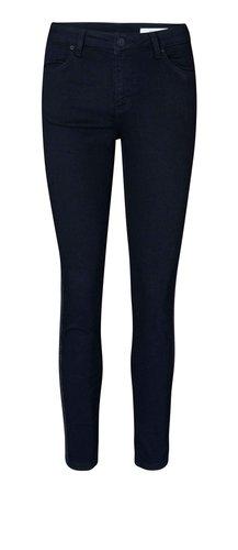 2nd One Nicole Crop Black Glitter Stripe jeans
