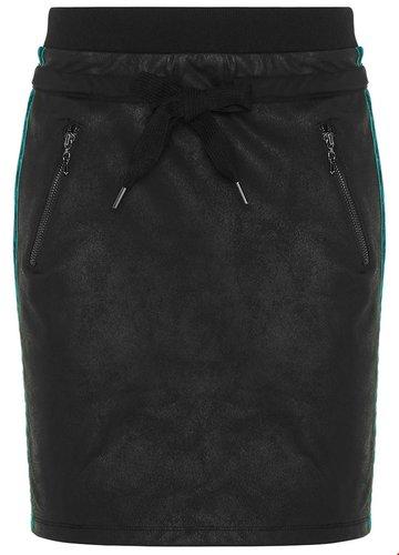 Tramontana Skirt Coated Sweat Velvet Details