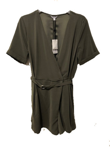 MbyM Elizza Green Leaf jumpsuit