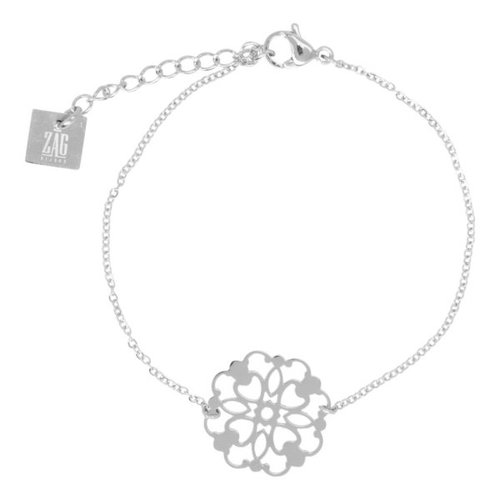 ZAG  zilveren armband filigree