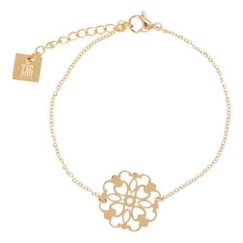 ZAG goud collier filigree