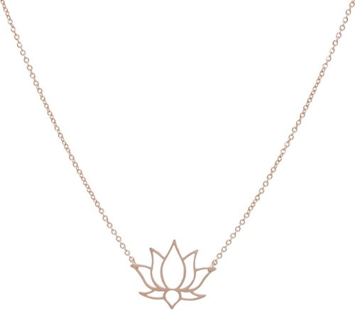 ZAG rose-goud collier lotus