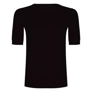Esqualo Sweater ronde hals zwart