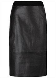 Tramontana Skirt PU Punta Mix Zwart