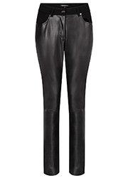 Tramontana Trousers PU Mix Zwart