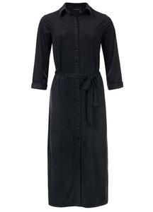 Dayz Charlaine - Lange blouse jurk Zwart
