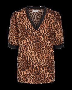 Freequent luipaard print top Vuli-bl 122270