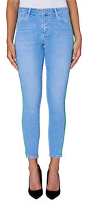 2nd One Nicole 601 Crop Vintage Blue Jeans