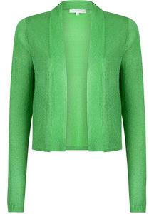 Tramontana Knitted Cardigan Short Bright Green