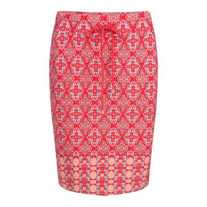 Esqualo Skirt Caleidoscope Red HS19.30203