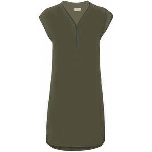 One Two Luxzuz Cassandra Dress Olive