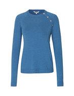 MbyM Zoja Freeman knit trui Bright Cobalt Melange